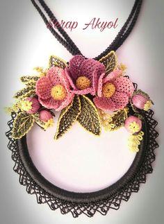 Point Lace, Crochet Necklace, Chokers, Jewelry, Fashion, Wreaths, Crocheting, Amigurumi, Weaving