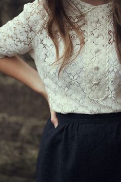 i am obsesssseeddd with lace.