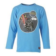 LEGO Wear Star Wars - Camiseta de manga larga para niño, color blau (medium denim 546), talla 11 años (146 cm) #regalo #arte #geek #camiseta