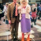 """[SELF] It's not the most popular or current character & it's kinda obscure... but the last couple of years I've been cosplaying the Chicken Lady from """"The Kids In The Hall"""" at cons and it's the most fun i've ever had in a costume."""
