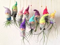 Wholesale Handmade Felted Fairy Tale Garden by urbanfarmersmarket