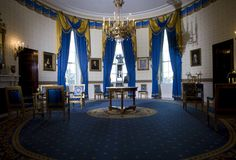 Tour of the White House: The Blue Room