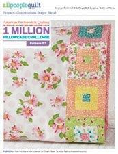 APQ -1 Million Pillowcase Challenge - Free Patterns