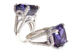 Would love to have this Tanzanite ring for an engagement ring.
