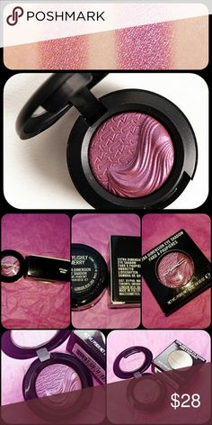 Authentic MAC Stylishly Merry Eyeshadow NIB MACStylishly Merryis a warm plum with a frost finish that is permanent. Limited edition and hard to find. 🚫trades or holds. MAC Cosmetics Makeup Eyeshadow