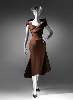 """Spiral"" Charles James (American, born Great Britain, 1906–1978) Date: ca. 1950 Culture: American Medium: silk"