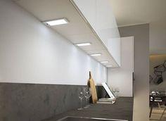 Uutta LED designia välitilaan Domus Linelta! Pinta-asennettavassa K-PAD valoihin on saatavilla myös kytkin ja himmennin. #domusline #valaistus #koti #toimisto #keittiö #sisustus #sisustussuunnittelu #arkkitehti #design #interiordesign #helakeskus #yritysmyynti #tukkumyynti #seinäjoki