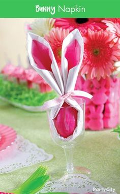 An Adorable Idea For Your Easter Brunch To Create This Darling Place Setting Take A