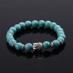 BUDDHA - Men's Beaded Bracelet