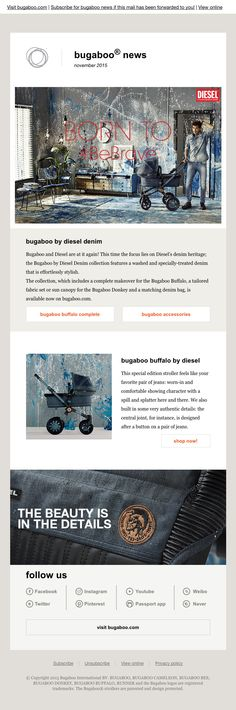 Fine Art Newsleter Inspiration #EmailDesign #Newsletter - example news letter