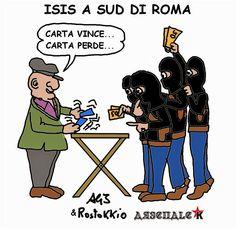 Isis sempre a sud di Roma
