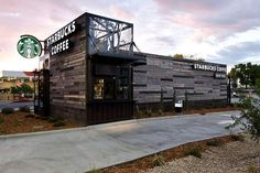 LEED-Certified Coffee Huts - The Starbucks Colorado is Smaller & More Portable for World Domination (GALLERY)
