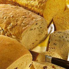 Schmand-Körnerbrot - Rezept für den Brotbackautomat Rezept   Küchengötter