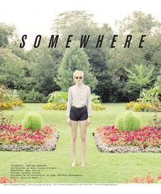Sofia Fisher Poses for Toshinao Kumakura in Nylon Mexicos January Issue