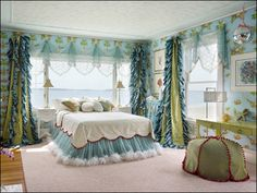 mermaid bedrooms girls | Showhouse Dream Rooms - The Boston Globe