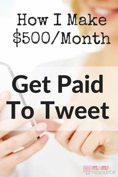 Make Money Online: Get Paid To Tweet! If you want to make money online, you can…
