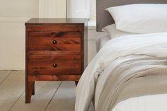 Furniture > Bedside Cabinets and Tables > Natural Grain 2 Drawer Bedside Cabinet