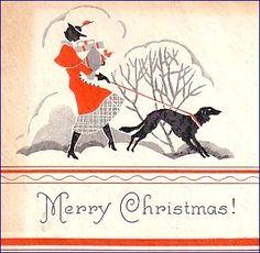christmas cards vintage - Buscar con Google
