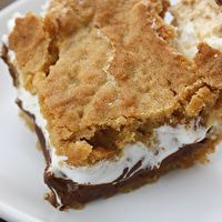 S'Mores Cookie Bars by Gina