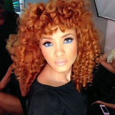 Red & Curly hairstyles!