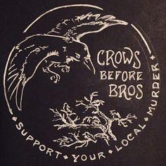 Crows before bros. Six of crows Sombra Lunar, Half Elf, Sara Fabel, Tenacious D, Crows Ravens, Opus, Six Of Crows, A Silent Voice, Kraken