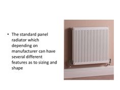 Some of the different types of radiator Panel Radiators, Central Heating, Boiler, Home Appliances, House Appliances, Kitchen Appliances, Appliances, Kettle