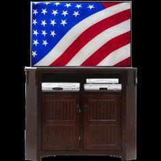 AmericanHeartland TV Stand Finish: Green