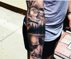 10 Unique Tattoos That Capture The Night Sky - UltraLinx