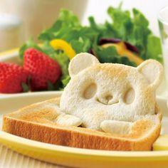食パン抜き型 パンDEポップ!アップ! ( キャラ弁 食パン 抜き型 お弁当グッズ デコ弁 パン抜き型 )   ROOM