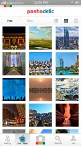 Pashadelic - This is a cool new app and website that focuses entirely on photos of landscapes, architecture, nature, and landmarks. In a digital world filled with pictures of food, pets, and anything else you can think of, an app like this is a blessing. As with any social app, you have to create a Pashadelic account before you can use it. You can log into the app with Facebook or create a separate account. If you love taking great scenic photos and sharing them, this app is for you!