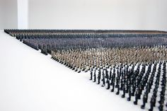 'tin soldiers' by ala younis. Istanbul art biennale 2011 explores the relationship between art and politics, presenting works that are both formally innovativeand politically outspoken. among the curated group and solo exhibitions is the work of kuwaiti artist ala younis.