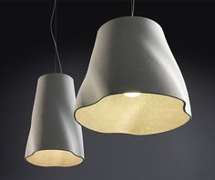 Concrete Soft Lights by Rainer Mutsch for Molto Luce