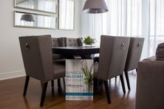 Dining Chairs, Dining Table, Houseplants, Your Space, Interior Decorating, Christmas Decorations, Furniture, Design, Home Decor
