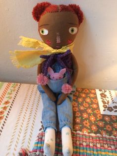 Little girl 'Autumn' by Lindaloudoll on Etsy