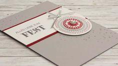 12 Karten bis Weihnachten 2016 - Tag 10 - Stampin' Up!