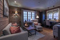 Roger's Hytteside Forest House, Ikea, House Ideas, Curtains, Home Decor, Houses, Patio, Blinds, Decoration Home