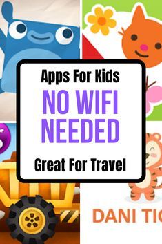 20 Greatest Apps For Kids That Require Wifi These are our family favo. 20 Greatest Apps For Kids That Require Wifi These are our family favourite Apps for kids that you can use without Wifi. We spend our summers on the road v, Road Trip Activities, Toddler Activities, Listening Activities, Fun Activities, Road Trip With Kids, Travel With Kids, Android Apps, Android Watch, Ipad