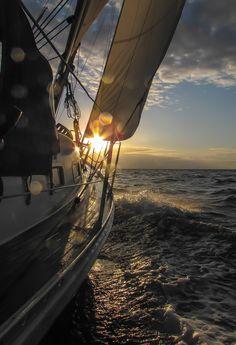 A smooth ride towards the Sun... Bornholm, July 2015