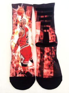 "Michael Jordan ""Fly"" Performance Socks"