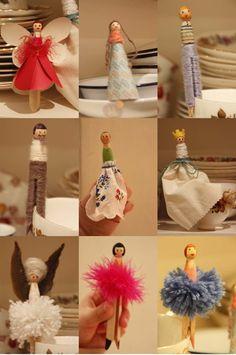 great peg dollies!~ideas