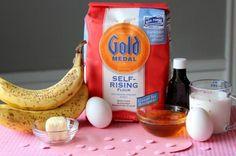 First Birthday Smash Cake-simple banana cake