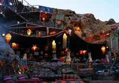 Farscha Café in Sharm El-Sheikh, Egypt.  Go to www.YourTravelVideos.com or just click on photo for home videos and much more on sites like this.