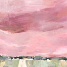 Abstract Nature, Abstract Landscape, Impressionist Art, Sailor, Weather, Contemporary, Canvas, Painting, Interiors