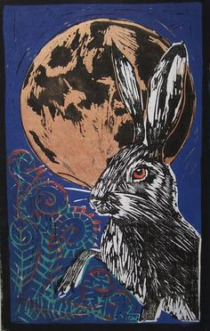 The Hare and the Moon | Flickr - Photo Sharing!