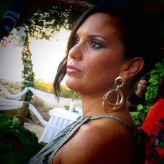 Look de invitada a una boda de verano. Peluquería y maquillaje: Patrizia Robel.