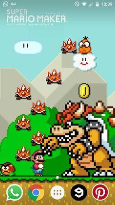 Mario maker wallpaper screenshot