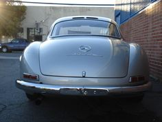 1955 Mercedes-Benz #300SL #Gullwing. Silver with Red Leather Interior. Source: http://www.fantasyjunction.com/cars/511-Mercedes-Benz-300%20SL%20Gullwing-Injected%20Inline%206%20Cyl. Upon special request we do #300SL restorations: http://www.bruceadams190sl.com/project/1957-300-sl-nagelberg. #BruceAdams190SL.