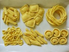 Pasta Party - crochet food pattern - NL Hood