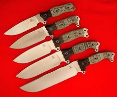 Busse Knives   Special Editions : 2008 Special Edition Set