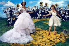 Annie Leibovitz Ads: Follow the yellow-brick road; and follow your dreams....